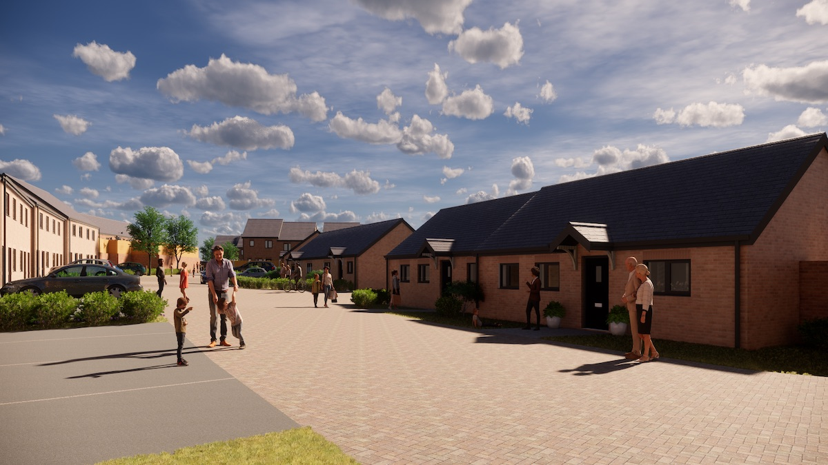 A CGI of Wise Living's development in Rotheram in partnership with contractor Engie | BTR News