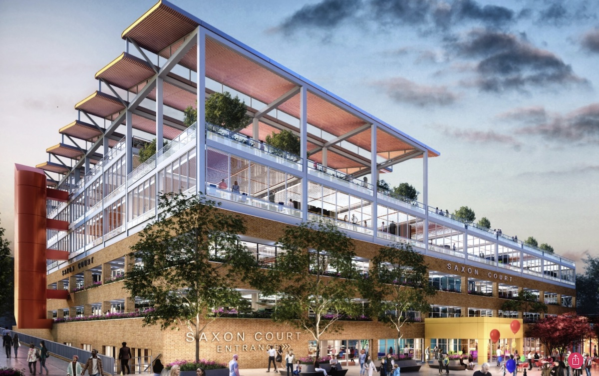 Saxon Court scheme, Milton Keynes - First Base | BTR News