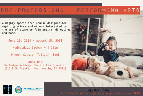 Pre Professional Performing Arts
