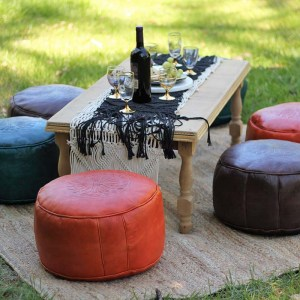 Ottomans and Cushions