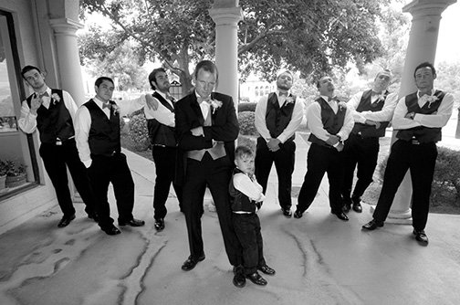Two Tempe Brothers Team Up to Photograph Wedding in Clarkdale Arizona
