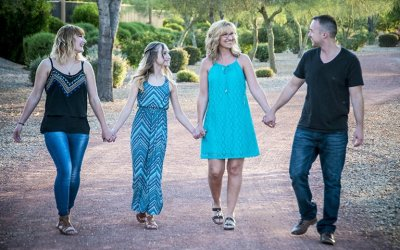 Shaun Tarr Photographs Mother and Three Children in Tolleson, Arizona