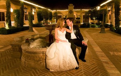 Wedding and Reception at Villa Siena