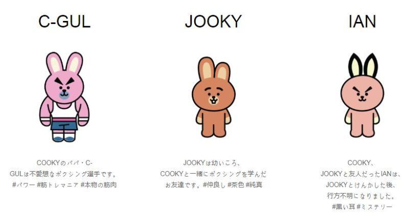 BT21 COOKY 新キャラクター