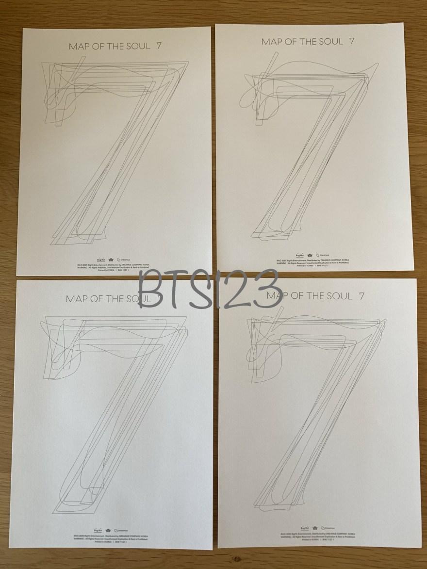 BTS カラーリングペーパー