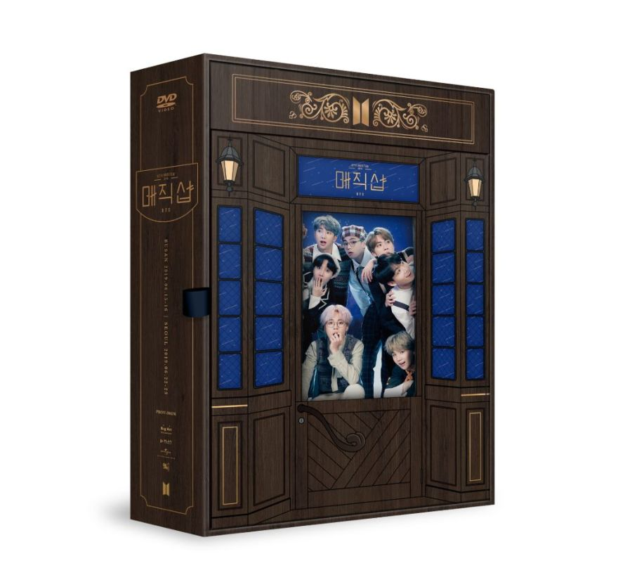 BTS DVD MAGIC SHOP