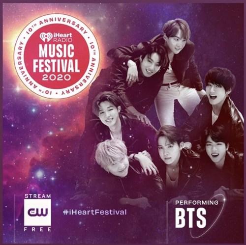 BTS Iheartradio 2020