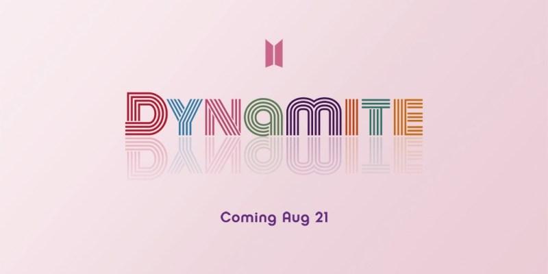Dynamite BTS ダイナマイト