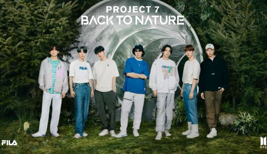 FILA×BTS 2021コラボ FILA Project 7 : BACK TO NATURE・New Beginning Collection