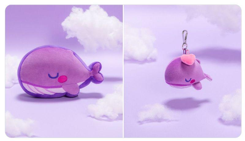 TinyTAN 紫くじら