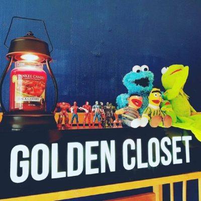 グクの作業室Pt.2 ゴールデン・クローゼット
