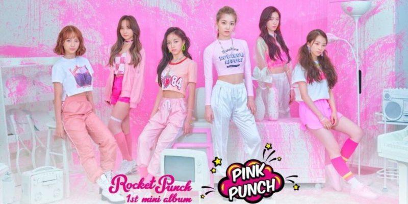 【K-POP女性グループ】メンバーの名前・デビュー日❤︎ROCKET PUNCH