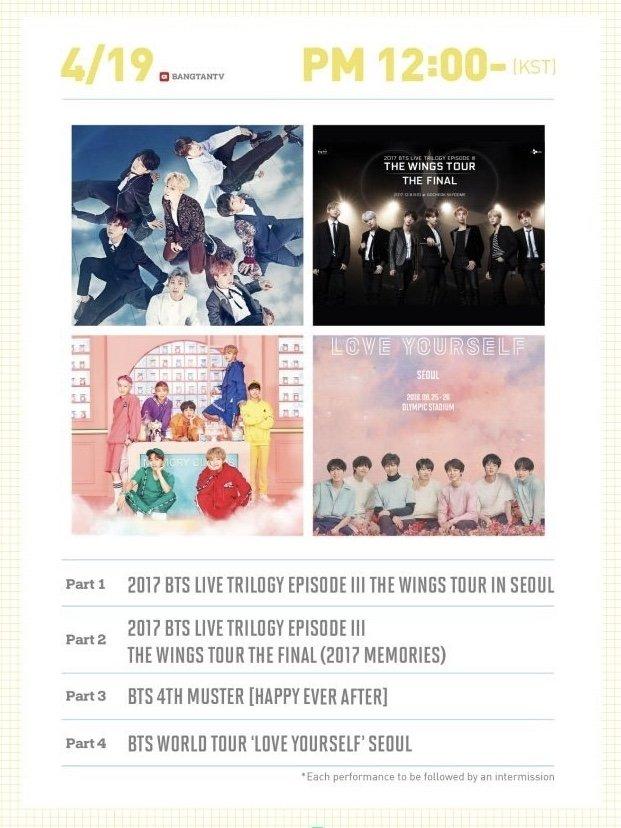 BTSオンラインコンサート BANGBANGCON (12時)