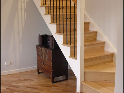 Victorian Ash Staircase