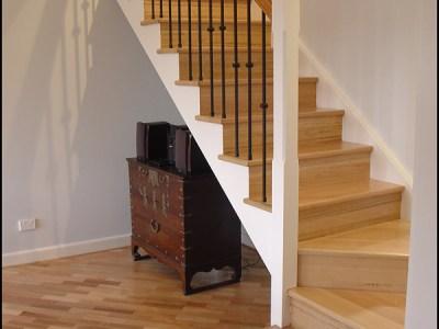 Victorian Ash Staircase