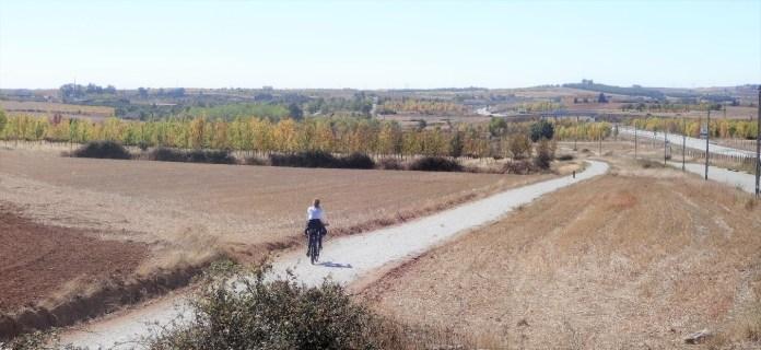 Ecopista do Sabor, próximo de Sendim