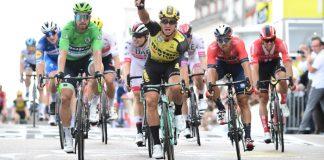 Vitória de Dylan Groenewegen na sétima etapa, Giulio Ciccone segue na liderança da Volta a França