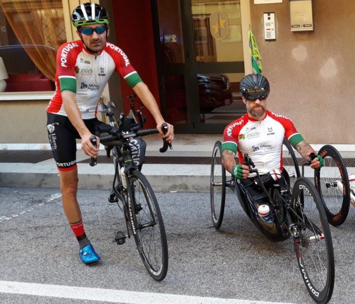 Luís Costa E Telmo Pinão Na Taça Do Mundo De Paraciclismo