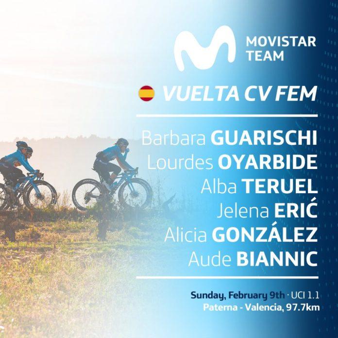 Equipa feminina da Movistar Team