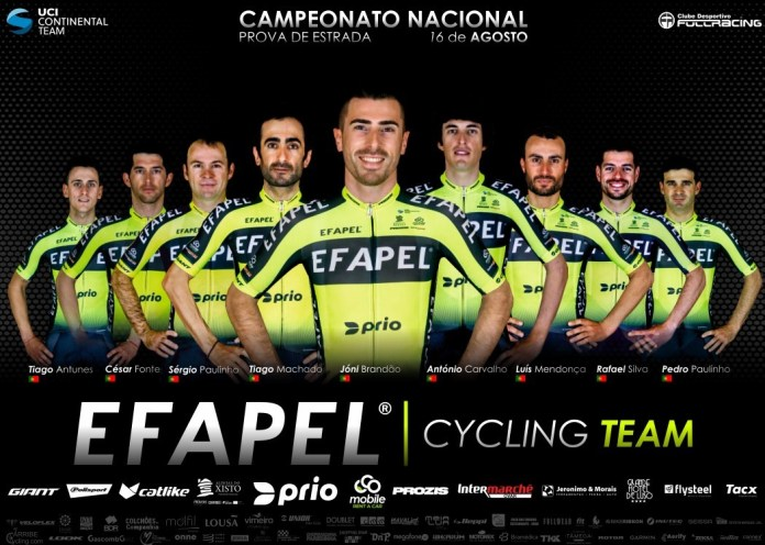 EFAPEL corre Campeonatos Nacionais para vestir bandeira lusa