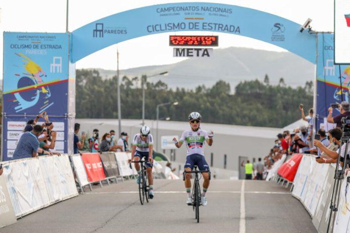 Fábio Costa sela domínio oliveirense no Nacional de sub-23