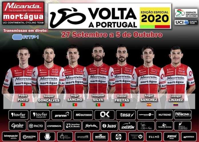 Volta A Portugal | Miranda-Mortágua Aposta No 'Estreante' Líder Joaquim Silva Para O 'Top 10' | Angel Sánchez Volta A Portugal Miranda-Mortágua
