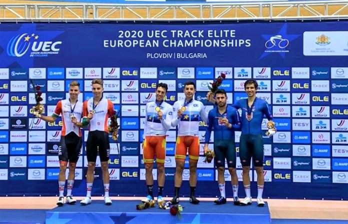 Medalha De Prata A Fechar Um Europeu De Pista De Ouro