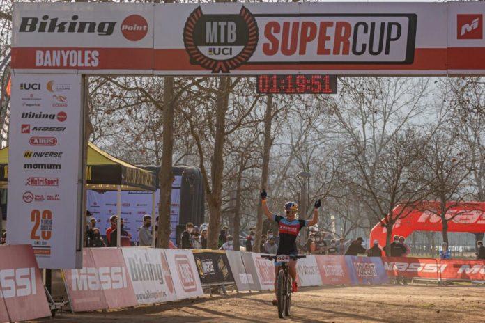 Evie Richards Venceu A Super Cup Massi De Banyoles
