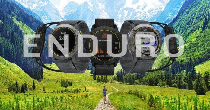 Garmin Enduro, O Relógio Gps Multidesportivo Com Carregamento Solar