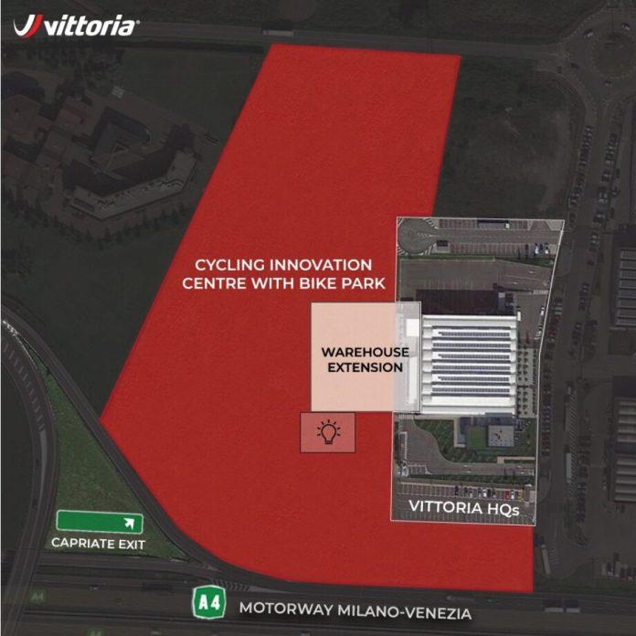 Vittoria Vai Ter Um Centro De Inovação Em Ciclismo Com Bike Park Em Itália