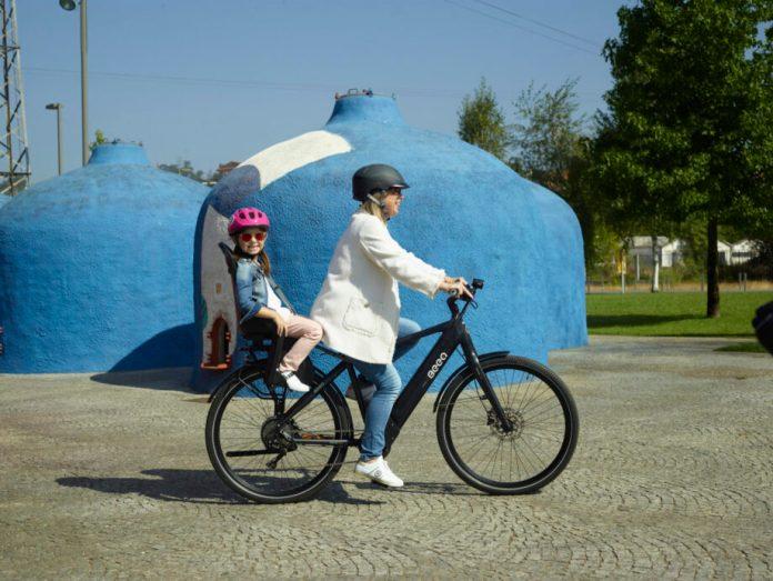 Cadeira Infantil Para Bicicleta Bubbly Maxi Plus Com Mik Hd