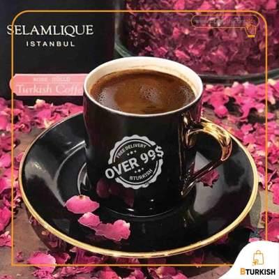 Selamlique Turkish Coffee, Rose