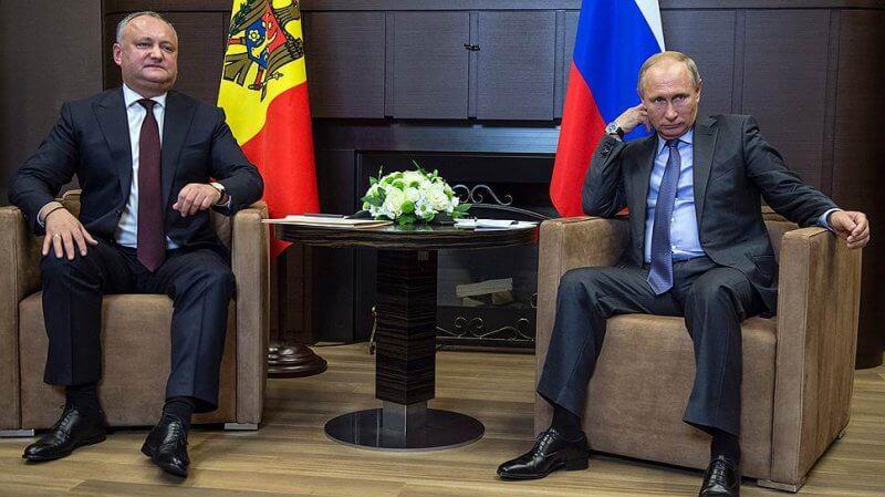 Додон-Путин