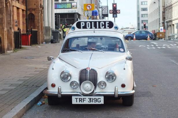 Jaguar 240 3.4ltr Police Car