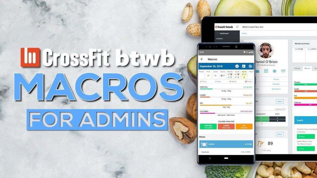 Using the Admin Console with Macros