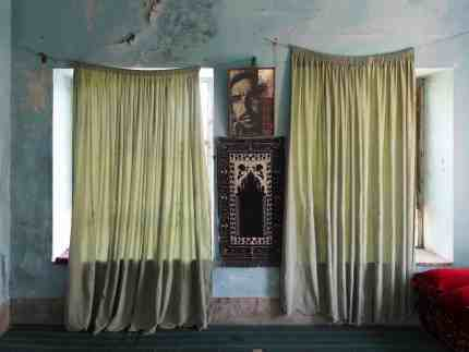 'Double Veils' from '(Un)Governed Spaces' shows a room in the Shomali region of Afghanistan. Image courtesy of Gregory Thielker.