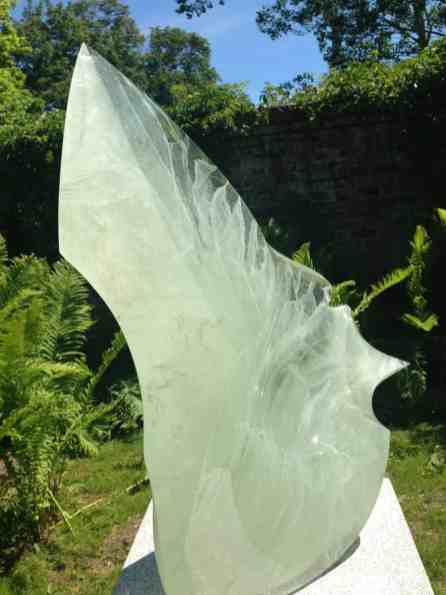Peter Bremers finds inspiration in icebergs for his work at Chesterwood. Photo by Kate Abbott