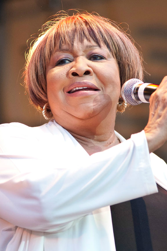Mavis Staples will perform with Bob Dylan at Tanglewood on July 2. Courtesy photo by Adam Bielawski