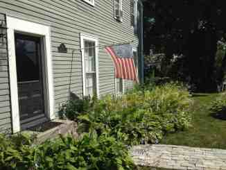 The Eddington House flies a 1776 flag in North Bennington, Vt. Photo by Kate Abbott