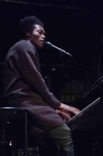 Benjamin Clementine performed at Mass MoCA on Oct. 15. Courtesy photo by Rainer Knäpper.