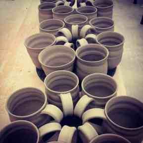 Amrita ceramics, courtesy of the Holiday Shindy
