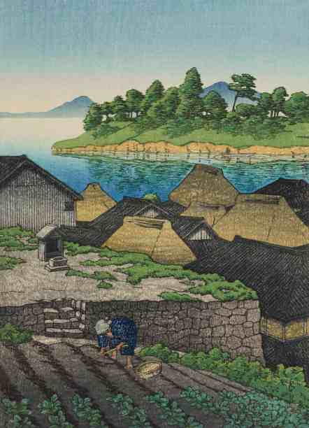 Kawase Hasui, Territory of Amakusa. Courtesy of the Clark Art Institute