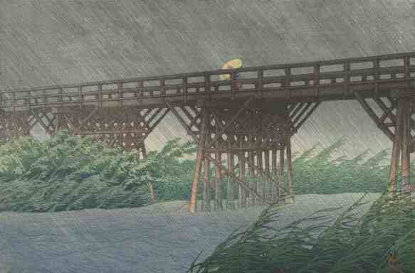 Yoshida Hiroshi, Sacred Bridge. Courtesy of the Clark Art Institute
