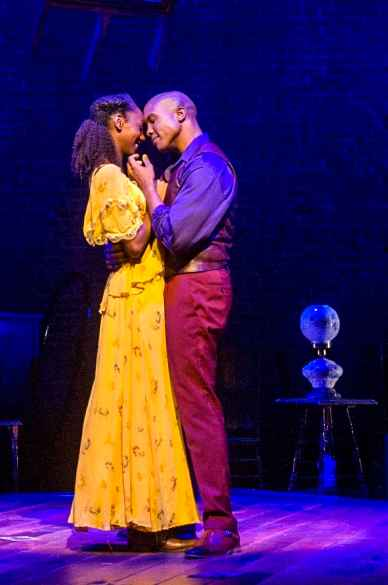 Zurin Villanueva and Darnell Abraham perform in Ragtime, the musical based on E.L. Doctorow's novel of New York at the turn of the 20th Century. Photo by Daniel Rader, courtesy of Barrington Stage Company