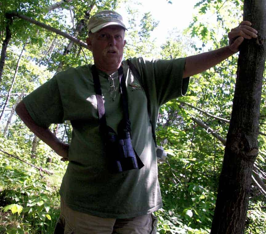 David St. James (1948 - 2013) first introduced Thom to this historic quarry. hoto by Thom Smith