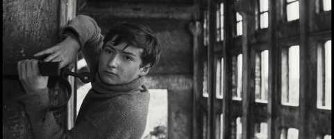 Director Heiner Carow, an East German filmmaker, tells the true story of a young volunteer determined to save his German village from the Russians in the spring of 1945. Image from FilmColumbia