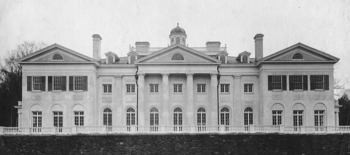 The Mansion as it appeared in 1912, courtesy of The Trustees of Reservations