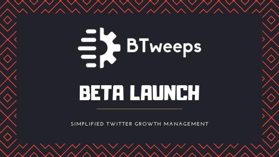 BTweeps - Beta Launch - Blog
