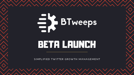 BTweeps - Beta Launch - Blog