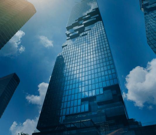 Holding Houdstermaatschappij Deelneming Flat Wolkenkrabber Zakencentrum